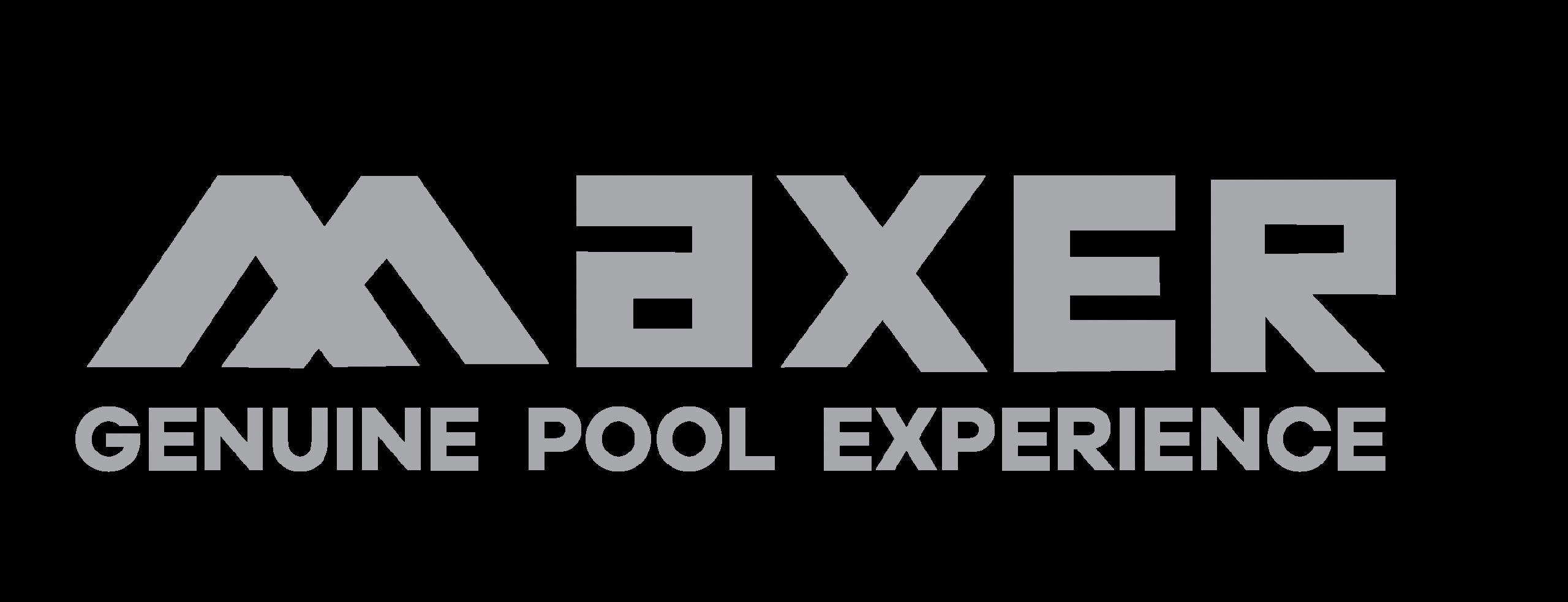 LOGO MAXER pool abu-abu